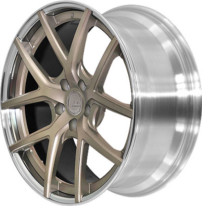 BC Racing Wheels HB-S 02 Unpainted Drum Matte Bronze Face