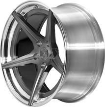 BC Racing Wheels HC 50 Brushed Black