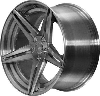 BC Racing Wheels HC 52 Brushed Black
