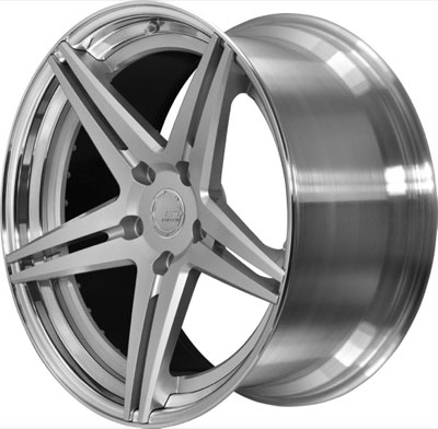 BC Racing Wheels HC 52 Unpainted Drum Matte Silver Face