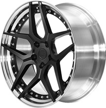 BC Racing Wheels HC 53S Matte Black