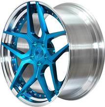 BC Racing Wheels HC 53S Sapphire Blue