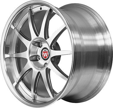 BC Racing Wheels SN 03 Bright Silver