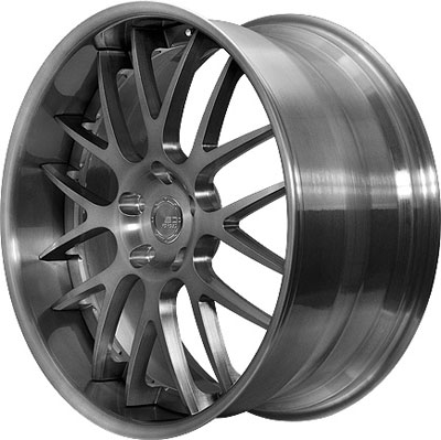 BC Racing Wheels SR 04 Brushed Black