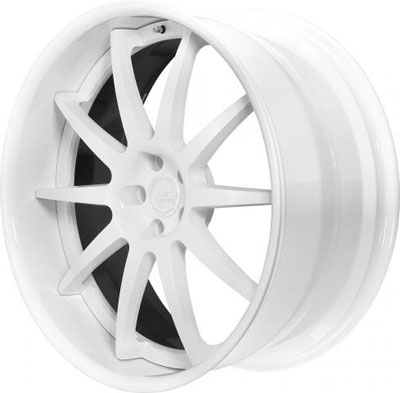 BC Racing Wheels SR 05 White