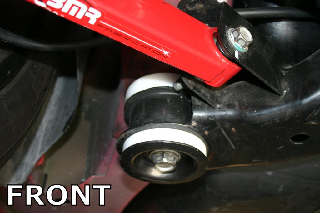 BMR Suspension 2010-14 Camaro Race Rear Cradle Bushing Kit 4