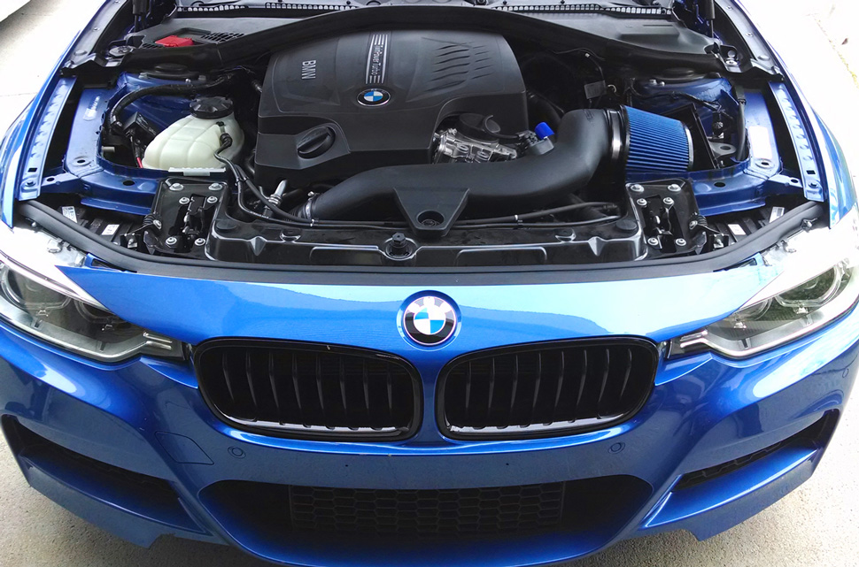 BMS Burger Motor Sport BMW F30 335i Intake N55 Installed 1