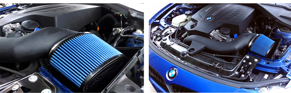 BMS Burger Motor Sport BMW F30 335i Intake N55 Installed 3