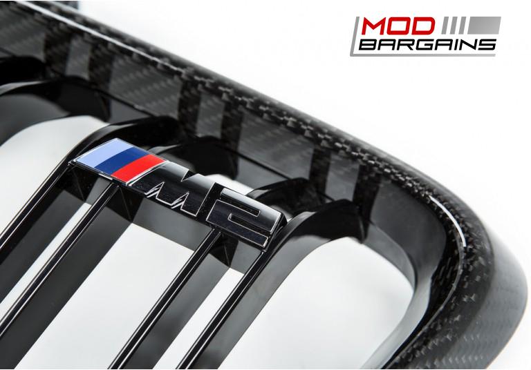 Carbon Fiber Front Grilles for BMW M2 F87
