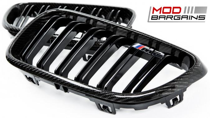 Carbon Fiber Kidney Grilles for 2016 BMW M2 F87