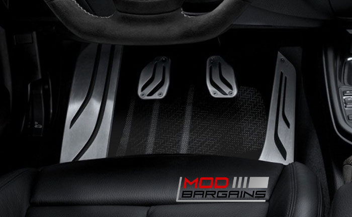 Stainless Steel Pedals for 2016 BMW M2 F87