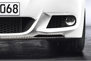 BMW Performance E92/E93 M-Sport Carbon Fiber Front Center Splitter