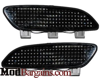 Smoked Bumper Reflectors for E90/E92/E93 and M3