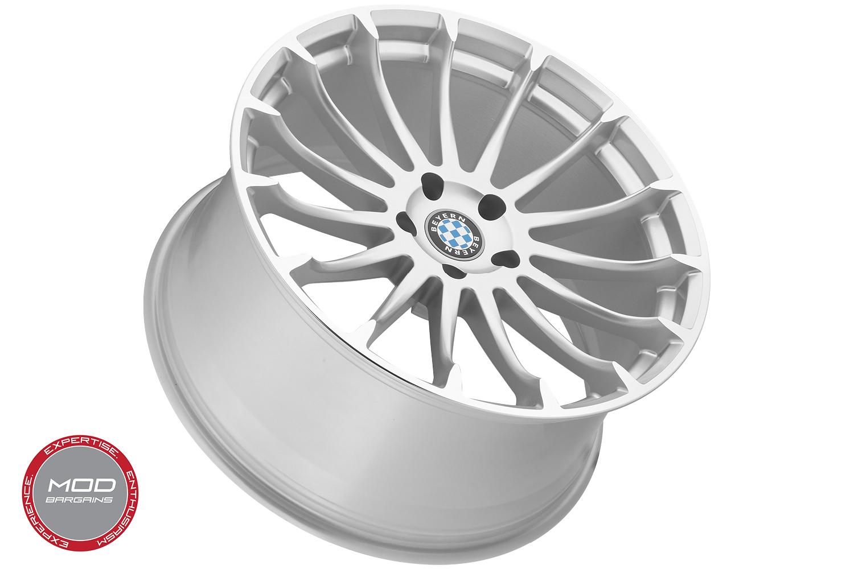 Beyern Aviatic Silver w/ Mirror Cut Face Wheel Alternate View