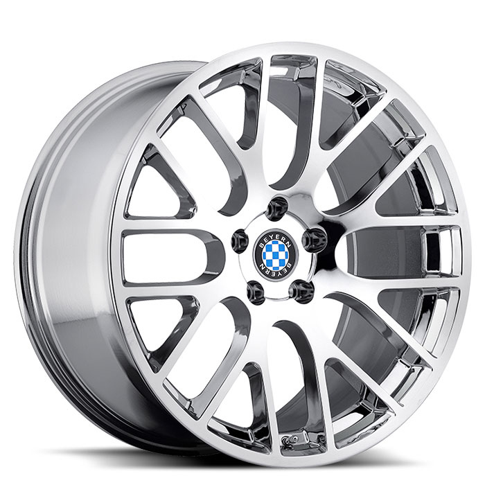 Beyern Wheels Spartan Chrome Front