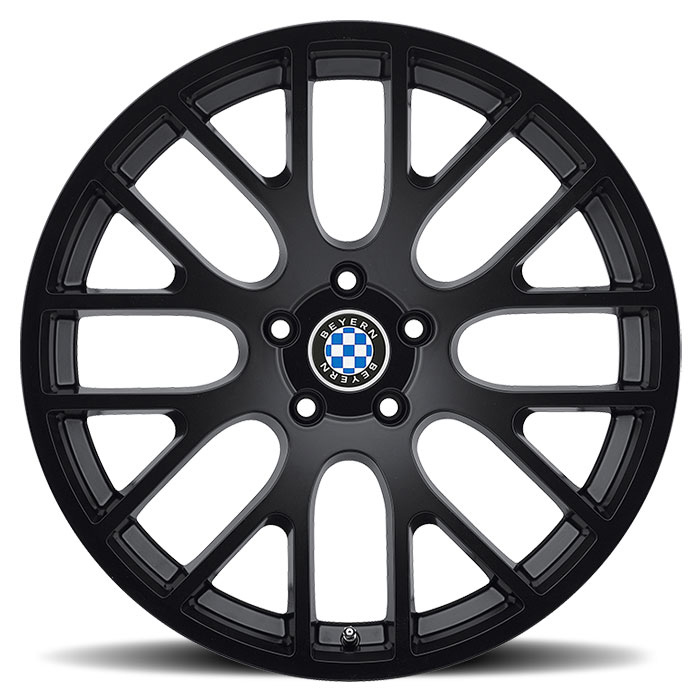 Beyern Wheels Spartan Matte Black Face