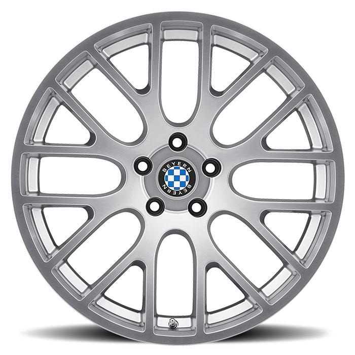 Beyern Wheels Spartan Silver Face