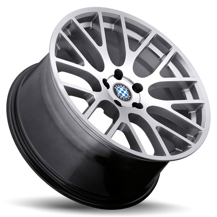 Beyern Wheels Spartan Silver Side