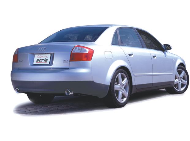 Get Borla Cat-back Exhaust System 97-03 Audi B5/B6 A4 @ ModBargains.com