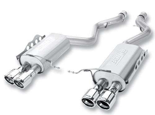 borla bmw E92 M3 exhaust axle back system 11764 modbargains mod auto