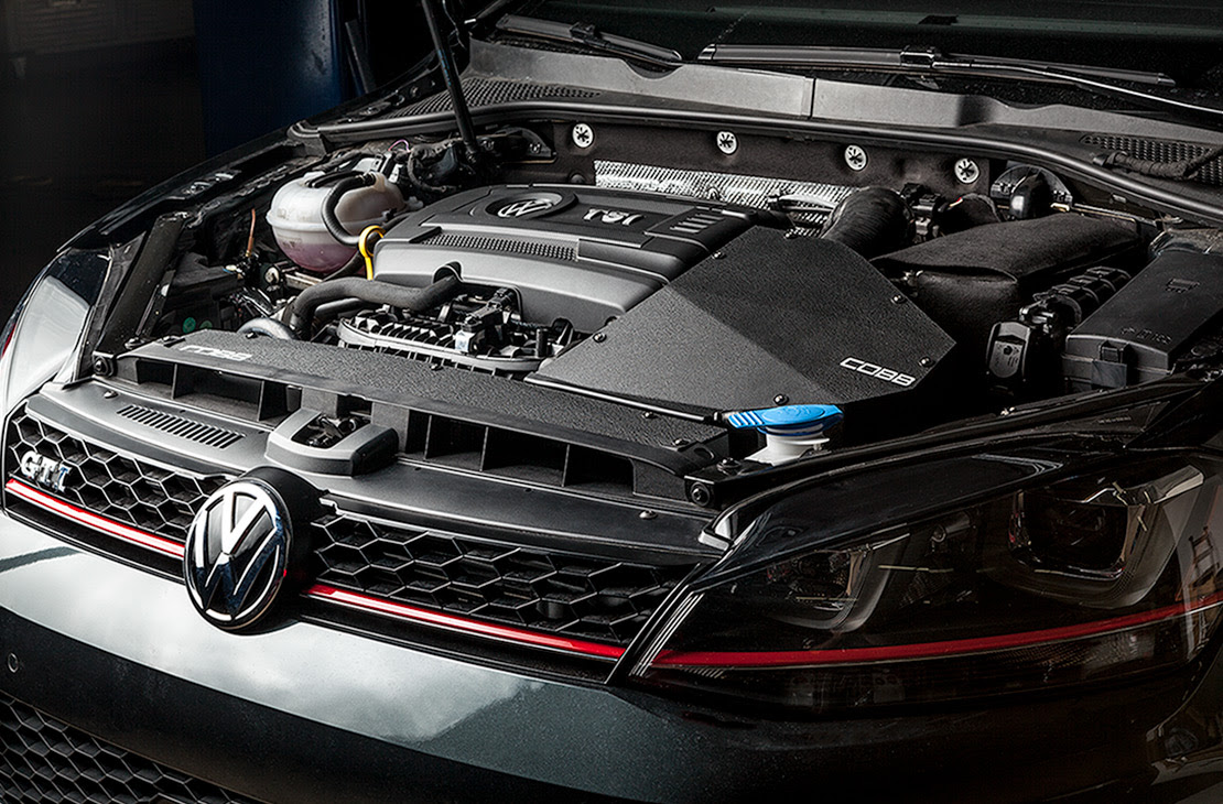Cobb SF Intake System Installed on Volkswagen Golf GTI MK7