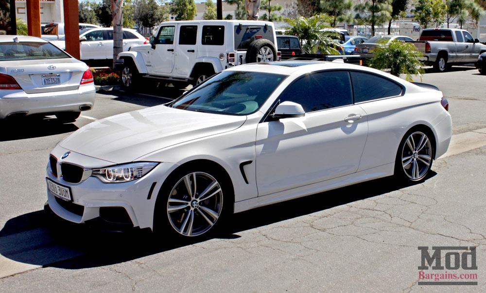 BMW F32 M4 Carbon Fiber Trunk Spoiler