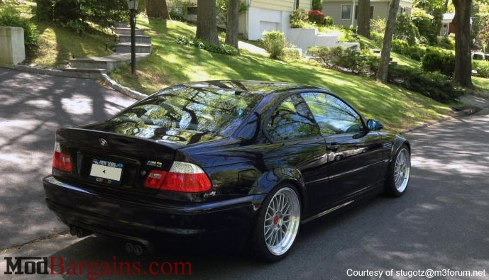 CSL Boot Lid for BMW E46 Coupe/M3 Carbon Fiber Sold at ModBargains.com