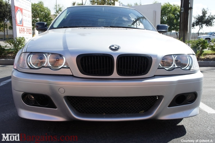 Purchase BMW E46 Sedan Coupe Replacemen Clear Headlights @ ModBargains.com