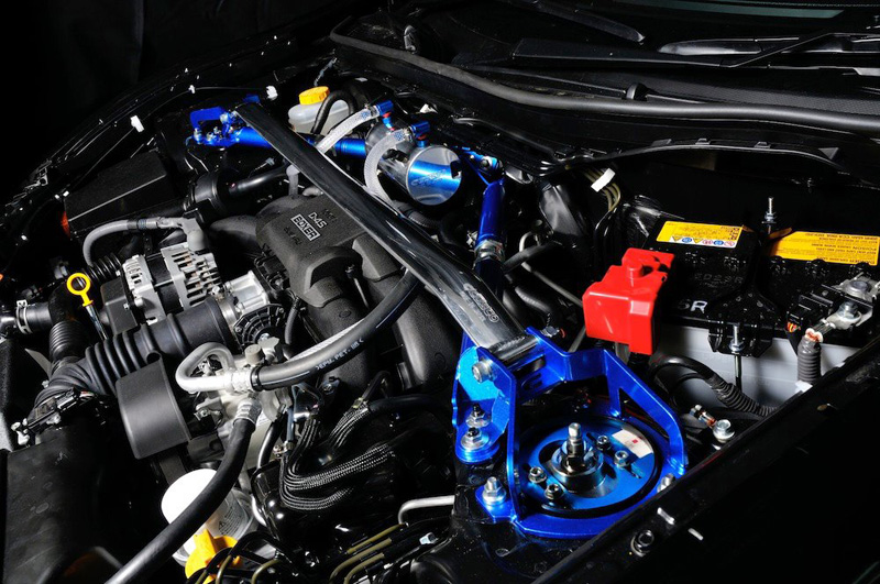 FRS and brz engine bay