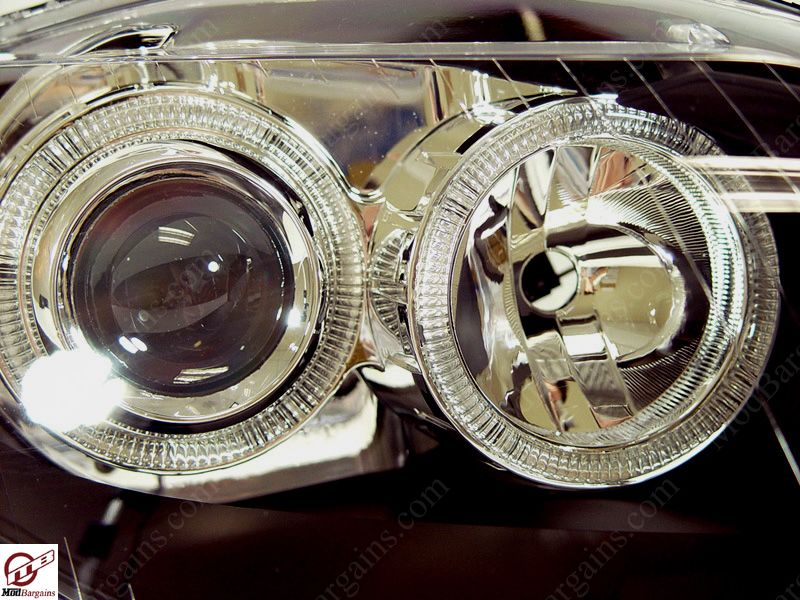 Design of a projector headlight