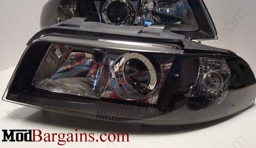 Audi A4 B5 Projector Headlight Bulbs - Xenon - Black