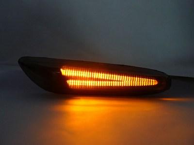 Smoked LED Strip Side Markers BMW E82/E90/E92