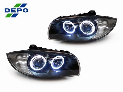 Buy Depo HID Projector Headlights BMW E82 1 Series @ ModBargains.com