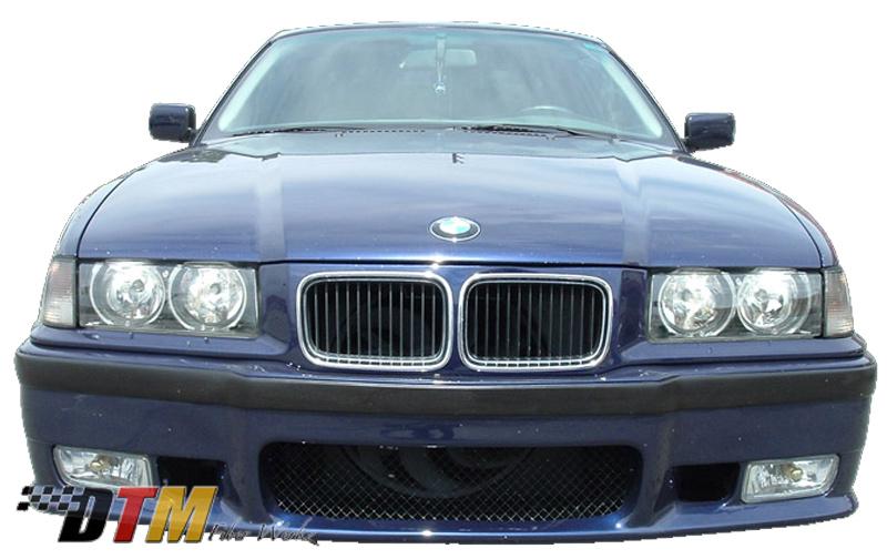 DTM Fiber Werkz BMW E36 M3 OEM Replacement Style Front Bumper