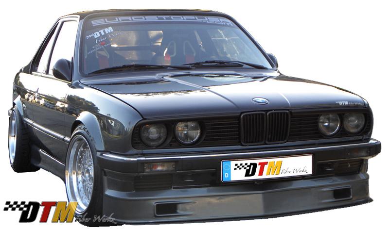 BMW E30 AP Euro Style Bumper Apron 1