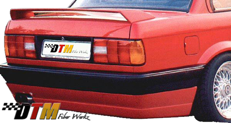 DTM Fiber Werkz BMW E30 BRYTN style Rear Apron View 1