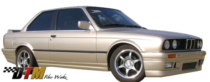 DTM Fiber Werkz BMW E30 2-Door BRYTN Style Side Skirts View 1