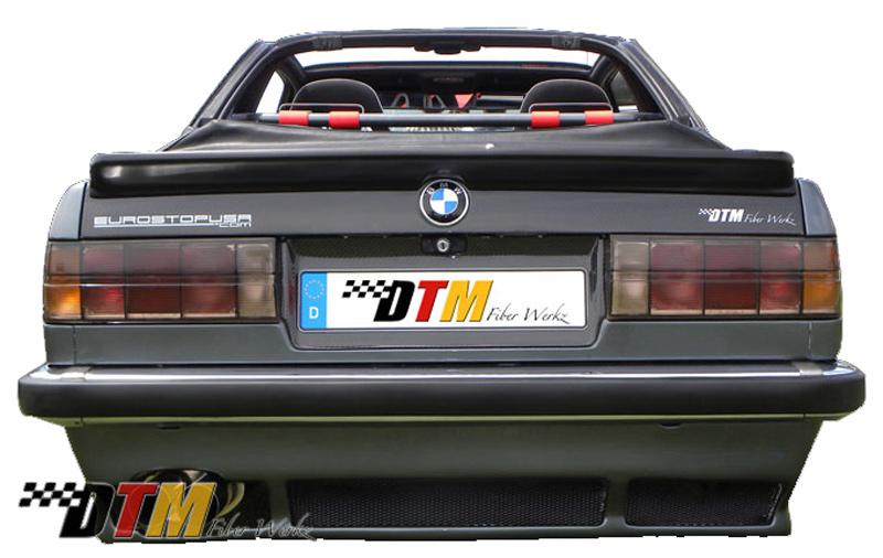 DTM Fiber Werkz BMW E30 DTM Style Rear Apron 1