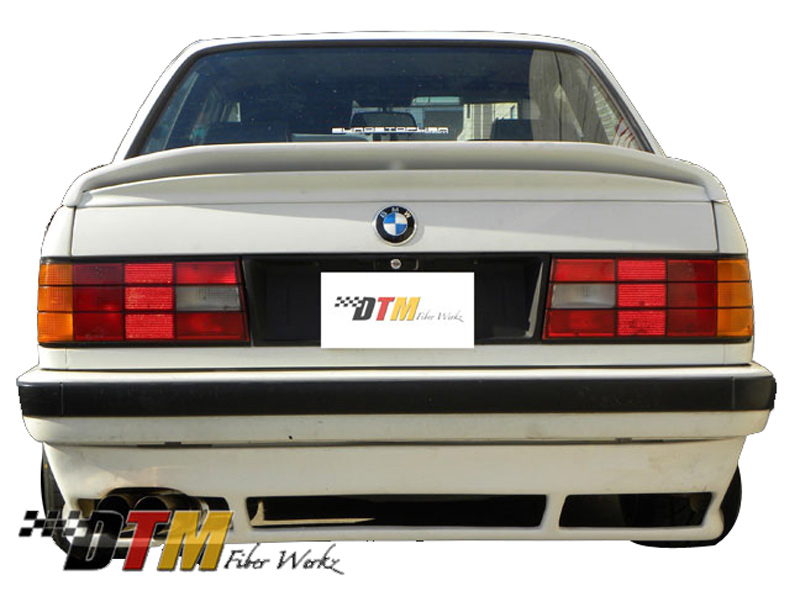 DTM Fiber Werkz BMW E30 DTM Style Rear Apron For USDM E30s View 1
