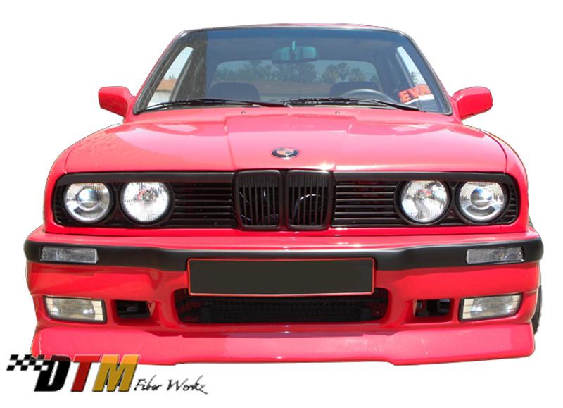 DTM Fiber Werkz E30 E36 M3-Style Front Bumper