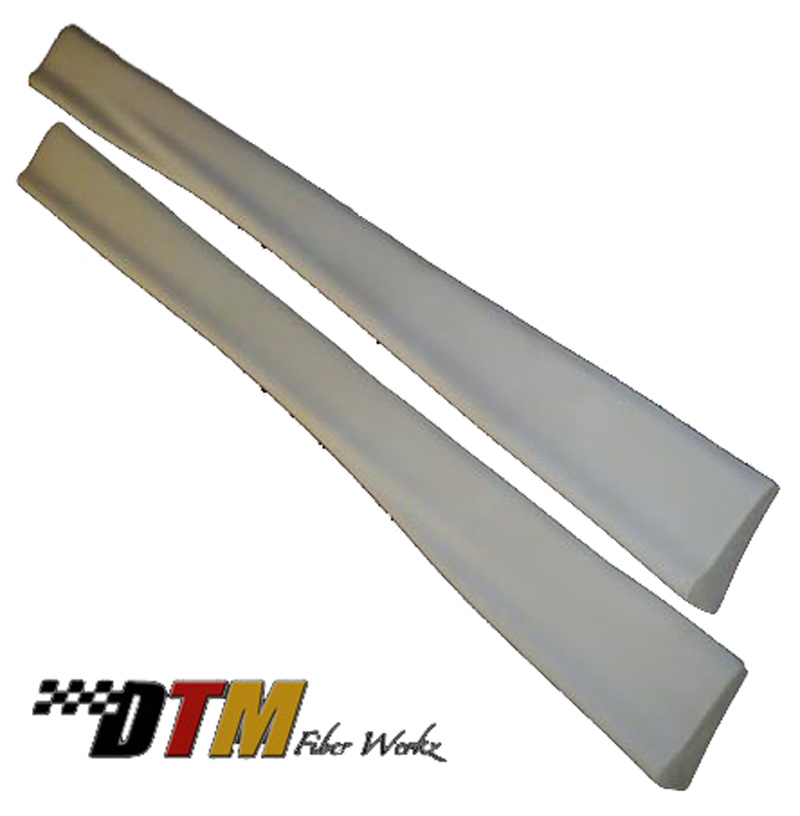 DTM Fiber Werkz BMW E30 E36 M3-Style Side Skirts Unmounted