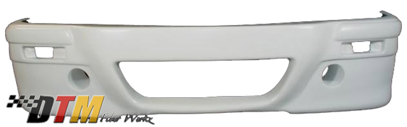 DTM Fiber Werkz E30 E46 CSL-Style Front Bumper Unmounted