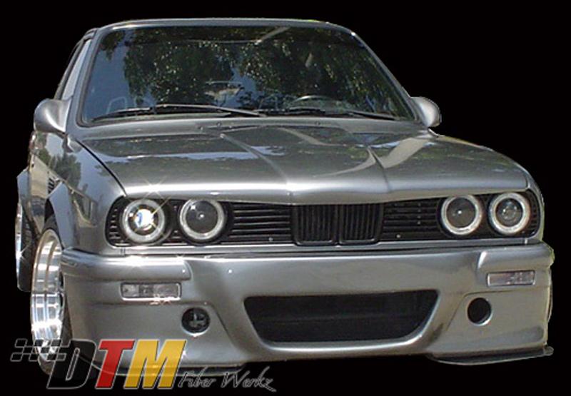 DTM Fiber Werkz E30 E46 CSL-Style Front Bumper 3