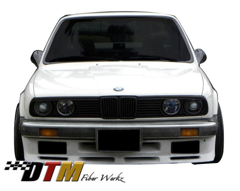 DTM Fiber Werkz BMW E30 ES Bumper Apron mounted