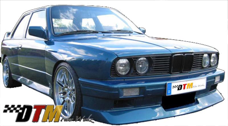 DTM Fiber Werkz BMW E30 Evo Bumper 2