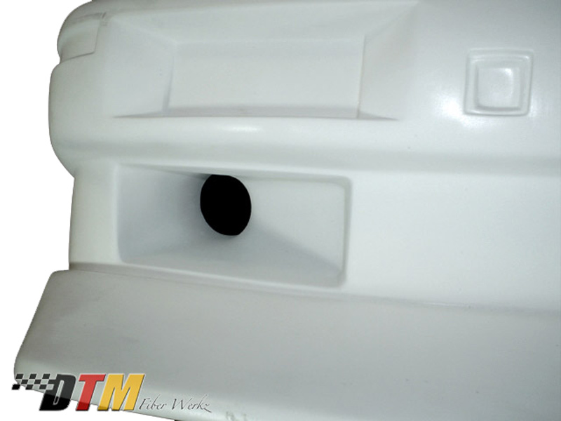 DTM Fiber Werkz BMW E30 Evo Bumper Optional Air Inlets