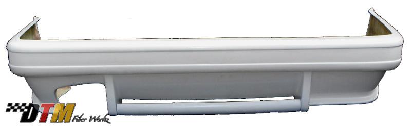 DTM Fiber Werkz HM Style Rear Bumper 1