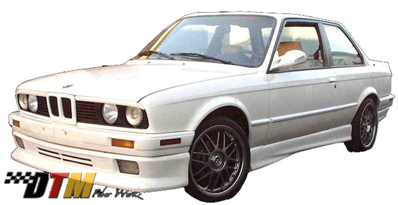 DTM Fiber Werkz BMW E30 HT Style Front Apron 1