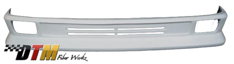 DTM Fiber Werkz BMW E30 HT Style Front Apron 2