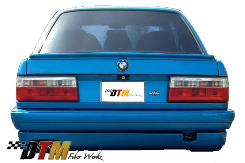DTM Fiber Werkz BMW E30 HT style Rear Apron